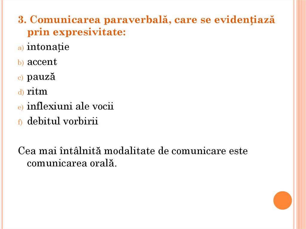 formele comunicarii verbale