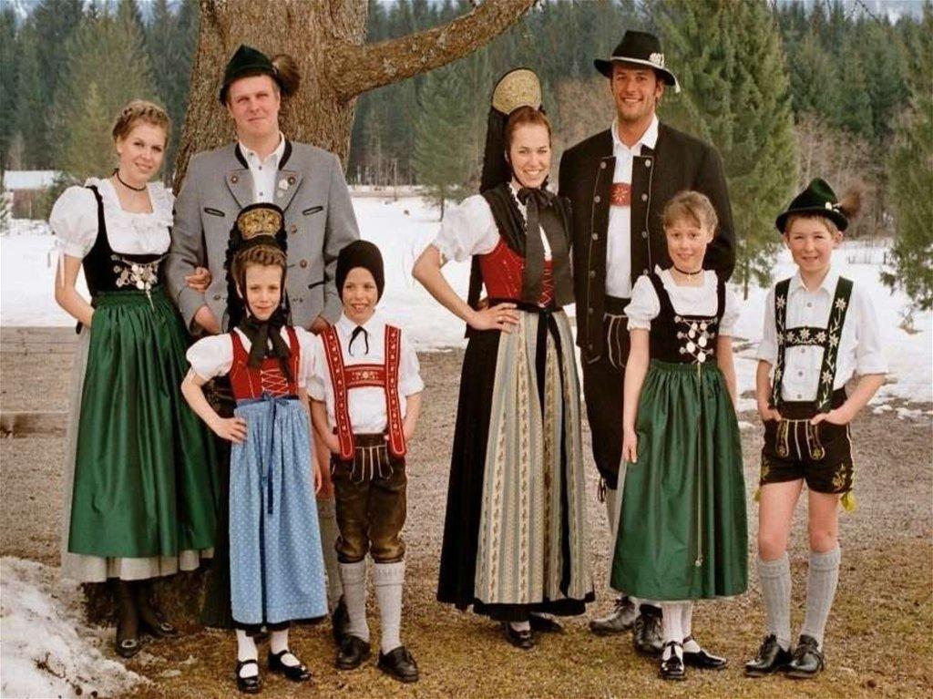 Празднику, картинки национальный костюм германии