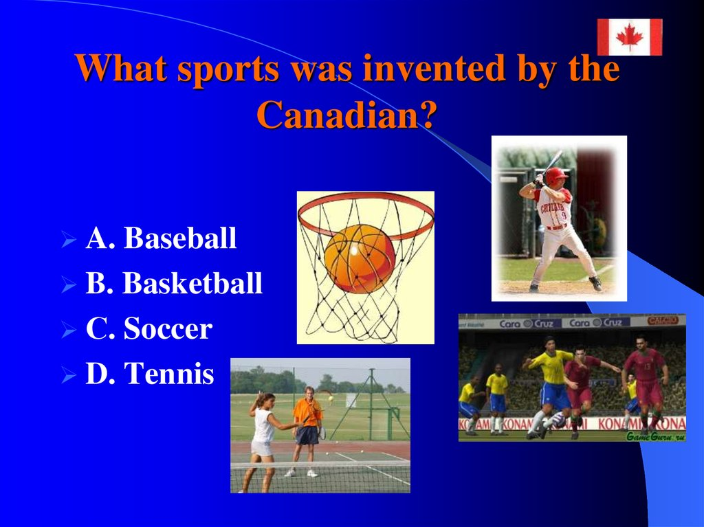 What sports was invented by the Canadian?