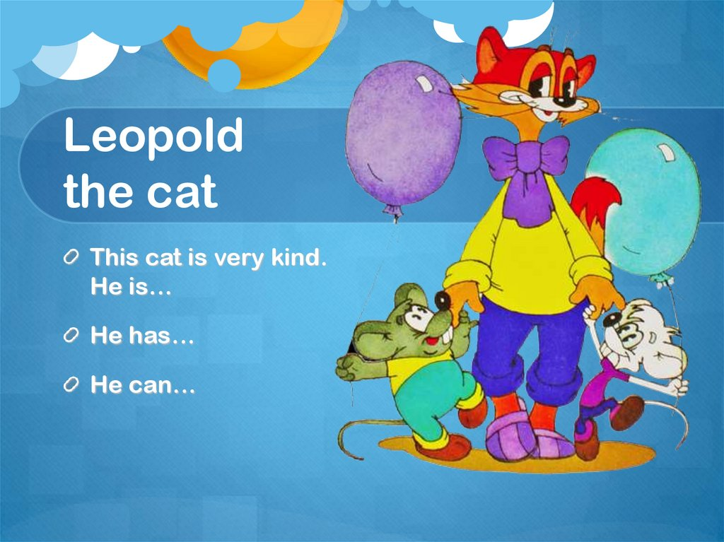 Leopold the cat