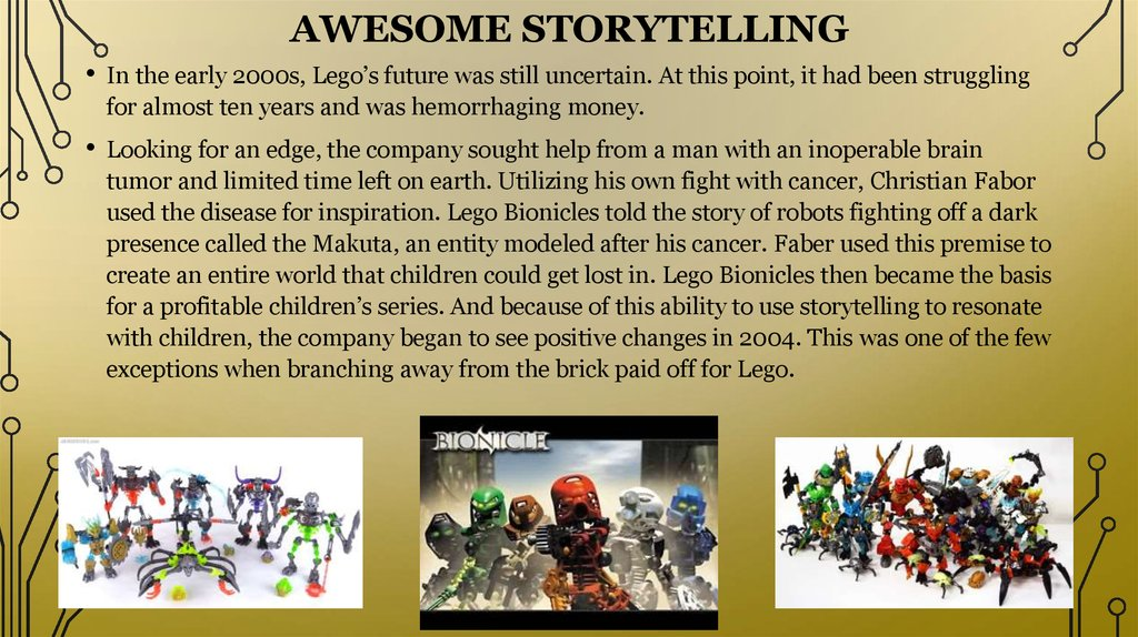 Awesome Storytelling