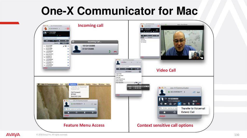 One-X Communicator for Mac