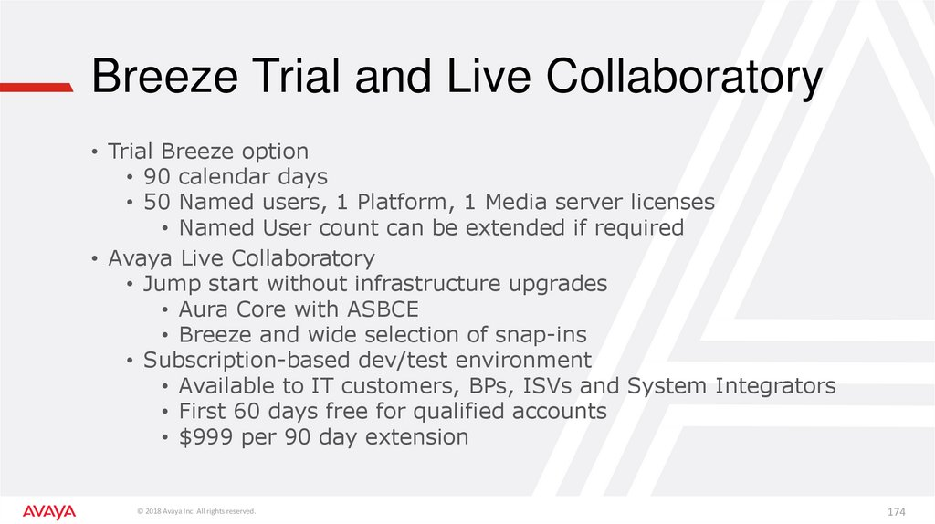Breeze Trial and Live Collaboratory
