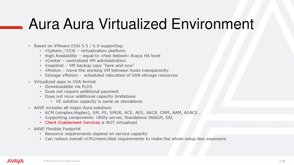 Aura Aura Virtualized Environment