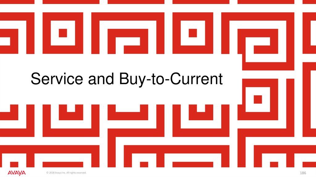 Service and Buy-to-Current