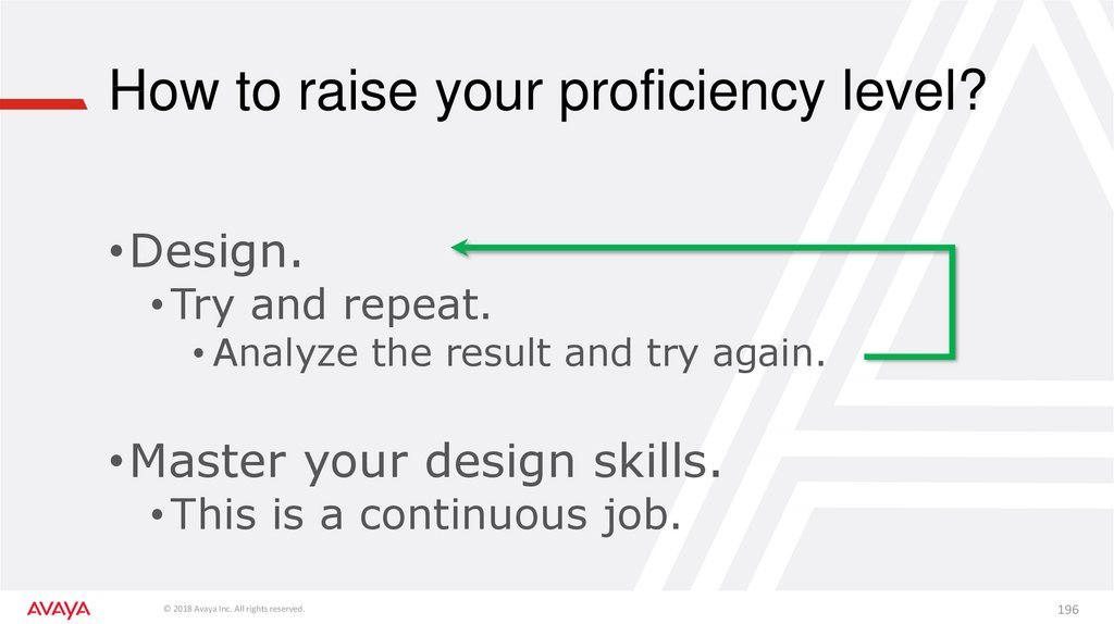 How to raise your proficiency level?