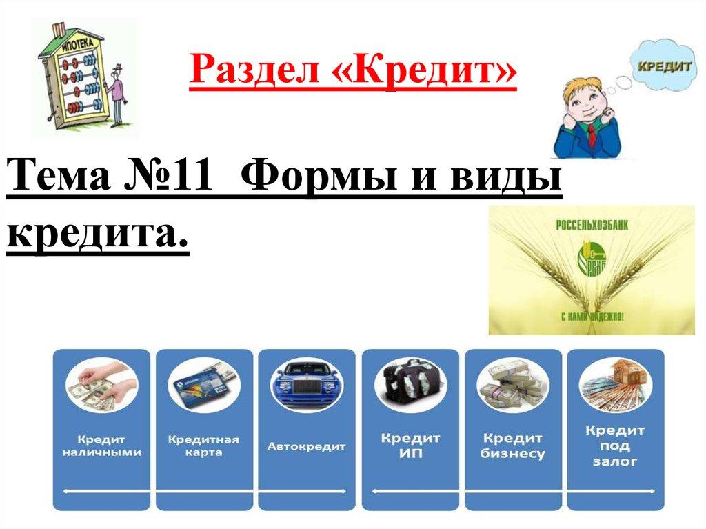 виды кредитов бизнесу подать онлайн заявку на ипотеку во все банки