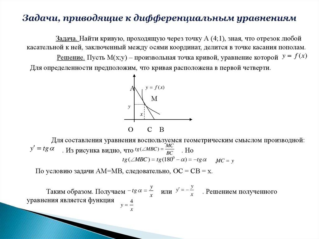 Решение задач приводящих к линейной функции разные пути для решения задач
