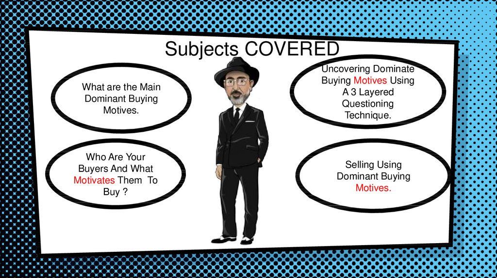 Subjects COVERED