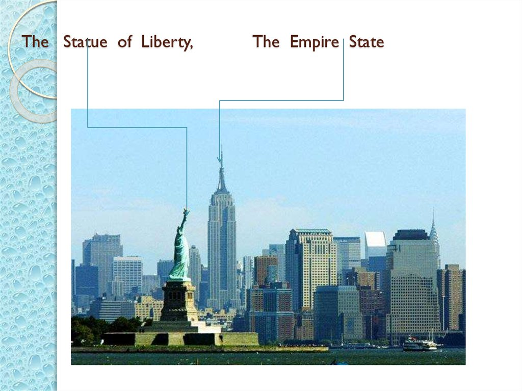 The Statue of Liberty, The Empire State