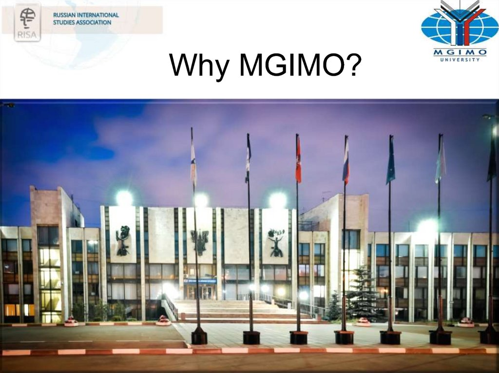 Why MGIMO?