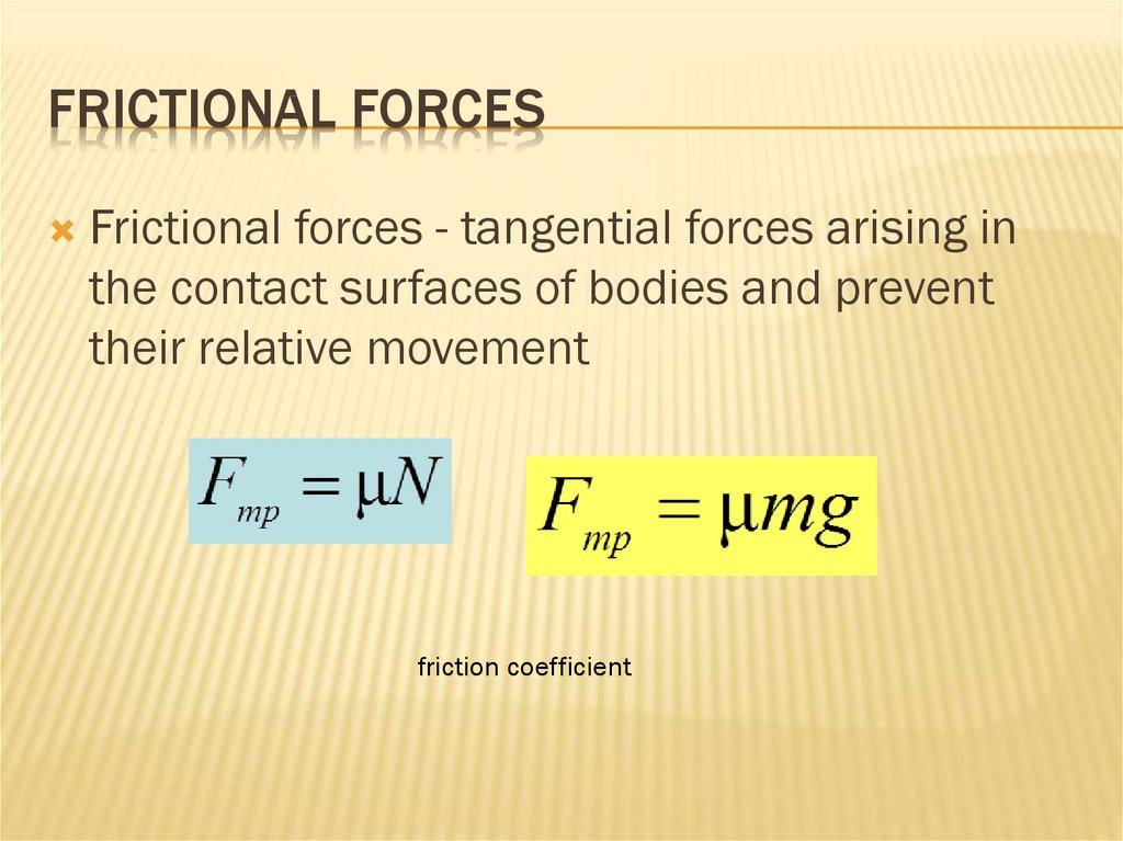 Mechanics  Key definitions - online presentation