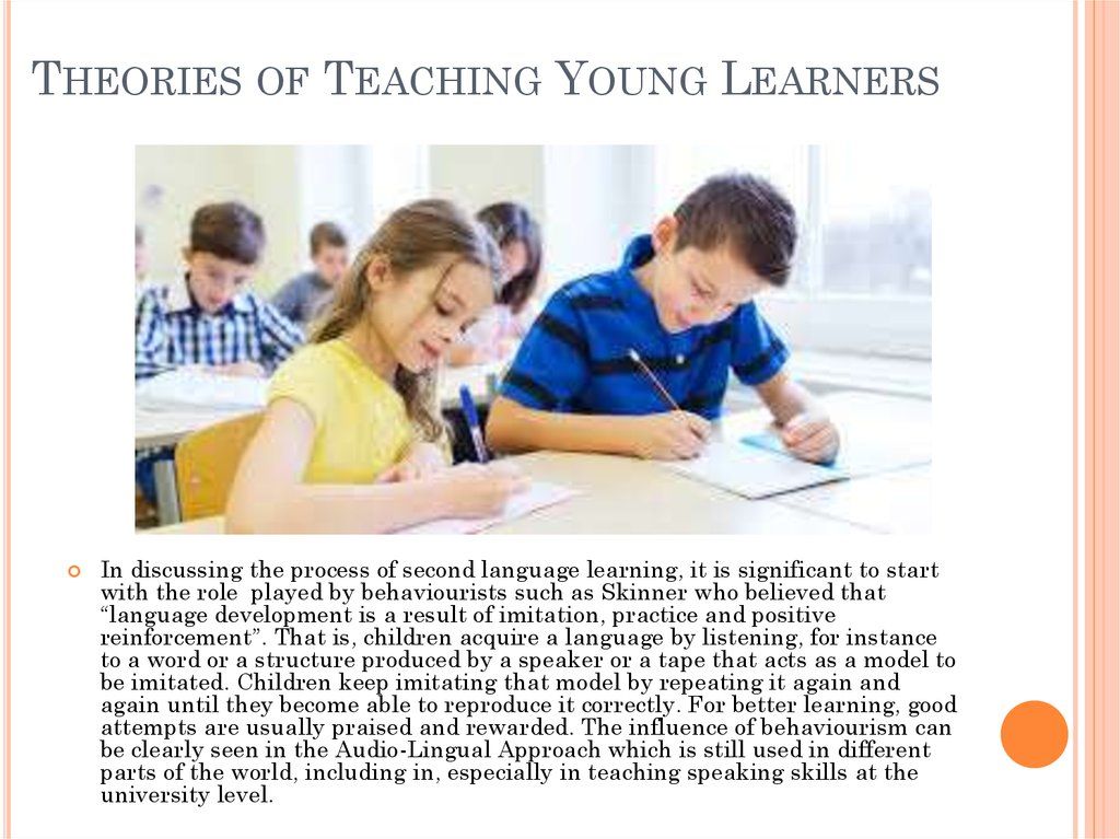 Theories of Teaching Young Learners
