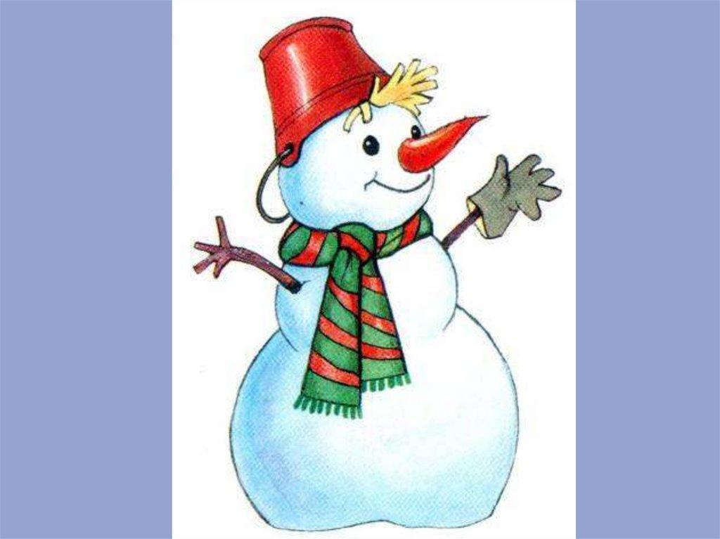 Обучение рассказыванию по картинке вот это снеговик средняя группа того, разрабатываем