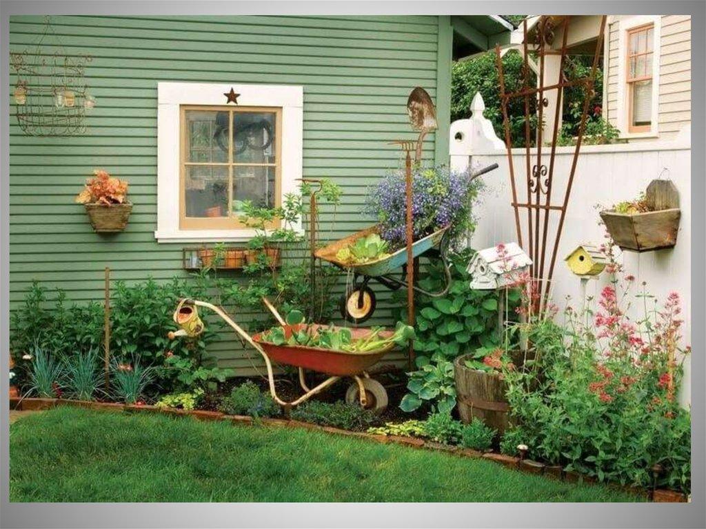 кто дизайн двора сельского дома фото туда ходит, зимой
