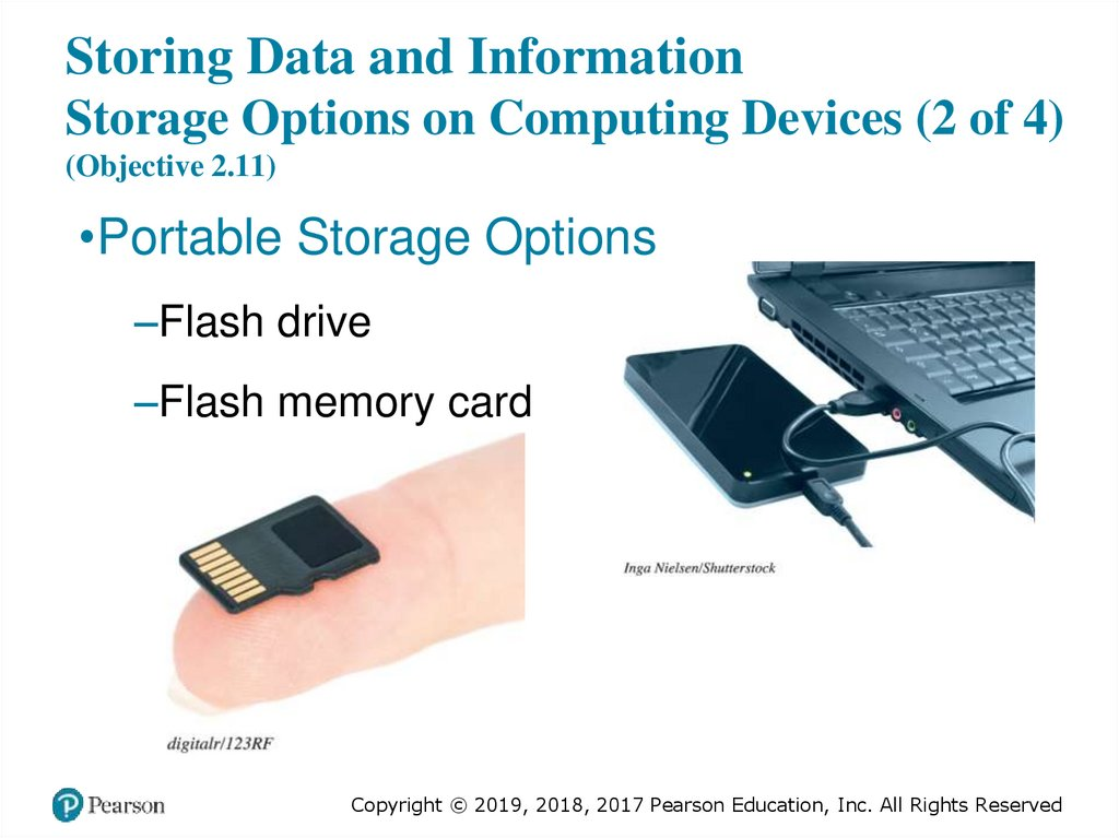 Storing Data and Information Storage Options on Computing Devices (2 of 4) (Objective 2.11)