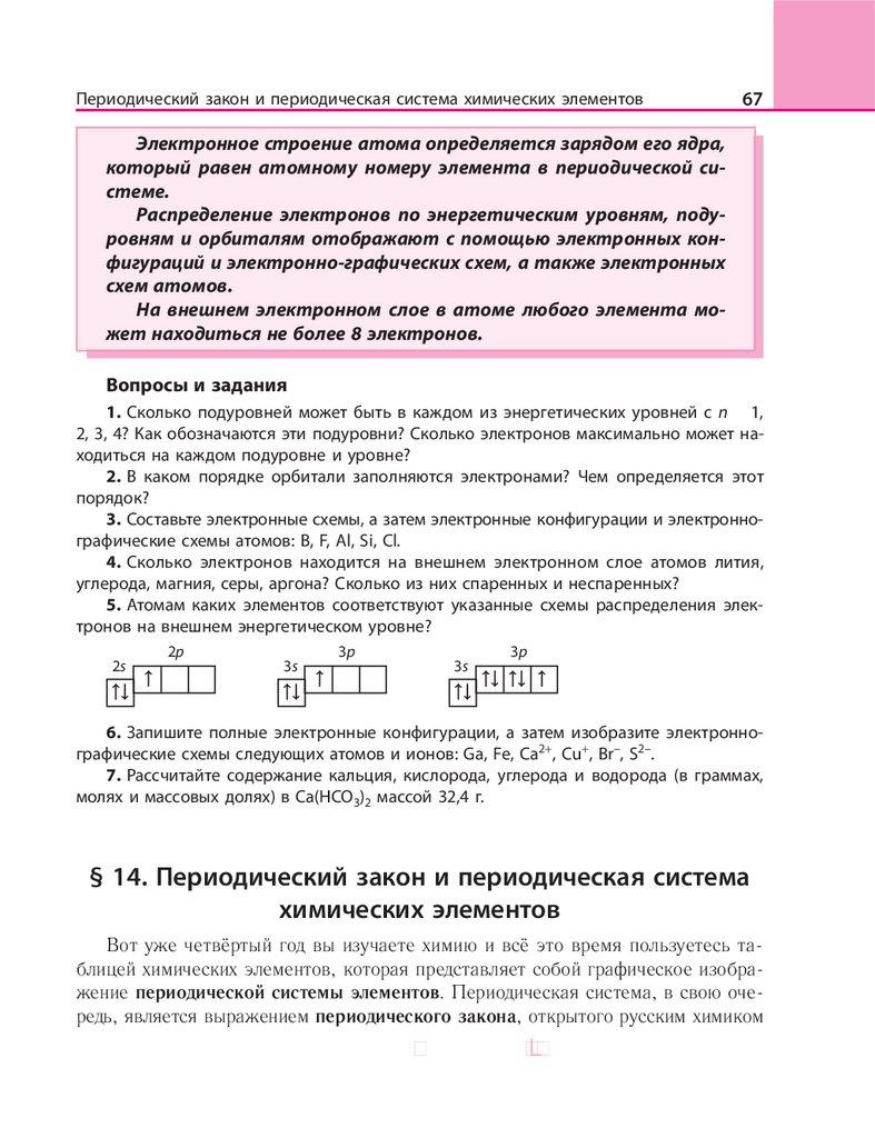 Химия пример решения задач по электронным конфигурациям пример решения задач по налогам с ндс