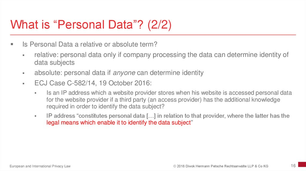 "What is ""Personal Data""? (2/2)"