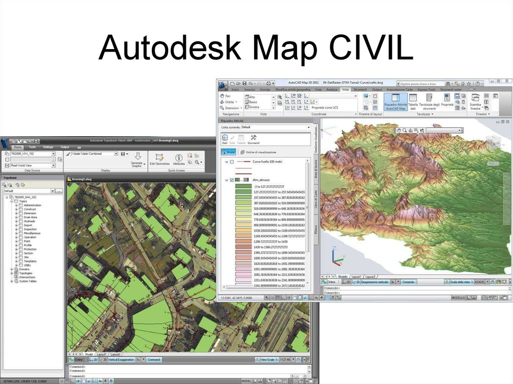 Autodesk Map CIVIL