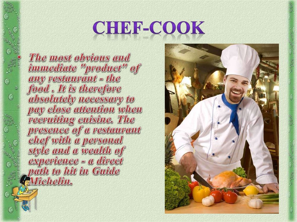 Chef-cook