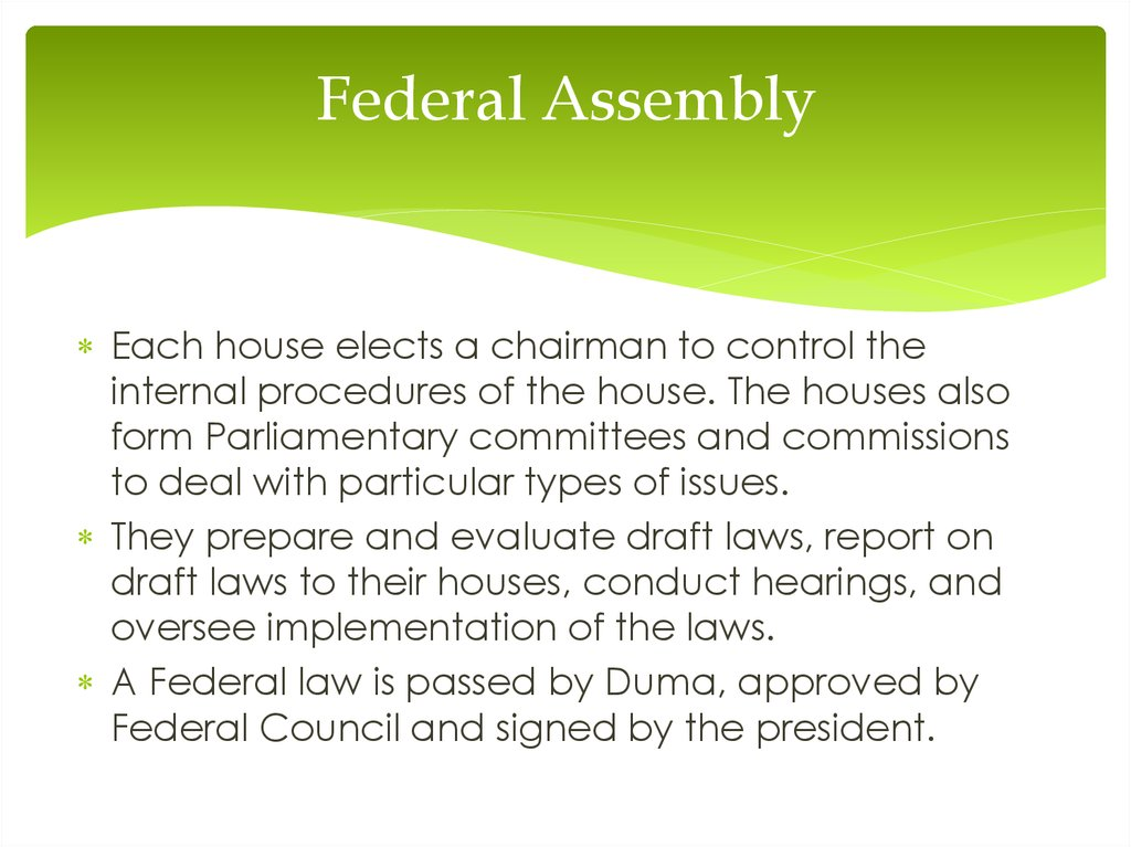 Federal Assembly