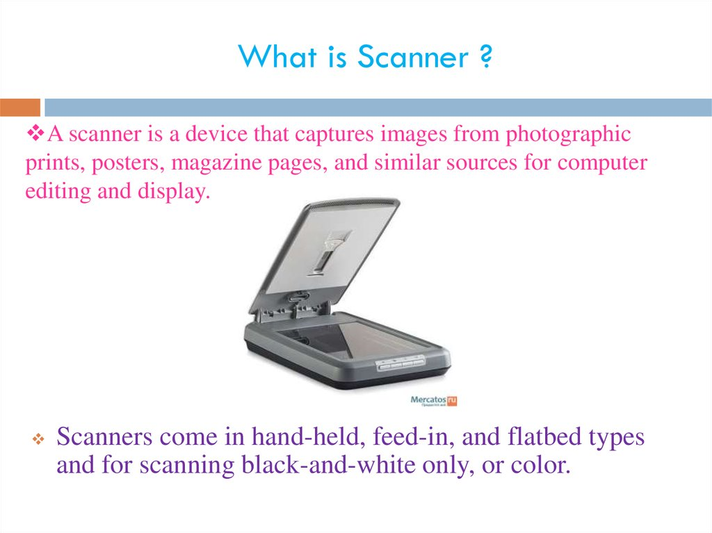 What is Scanner ?