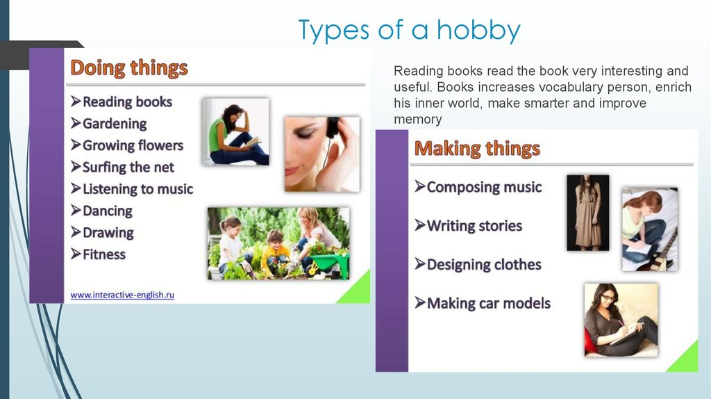 Hobbies German Hobbiesfordepression Key