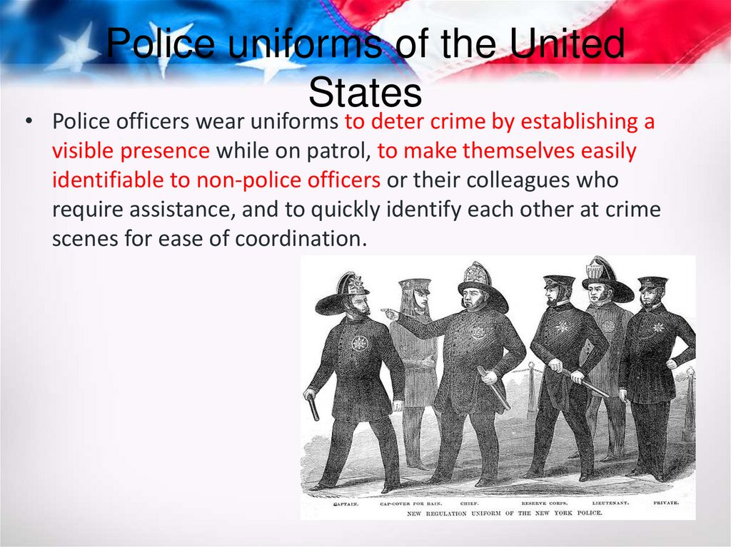 Police uniforms of the United States