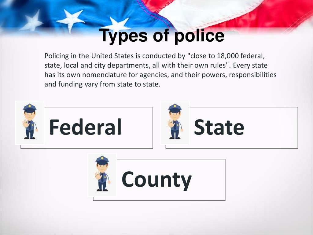 Types of police