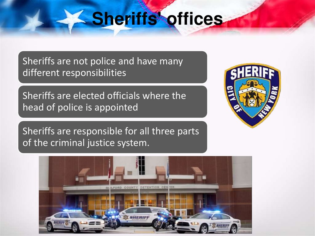 Sheriffs' offices