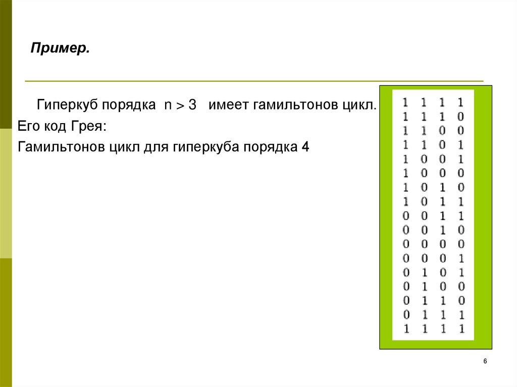 Гамильтоновы графы - online presentation