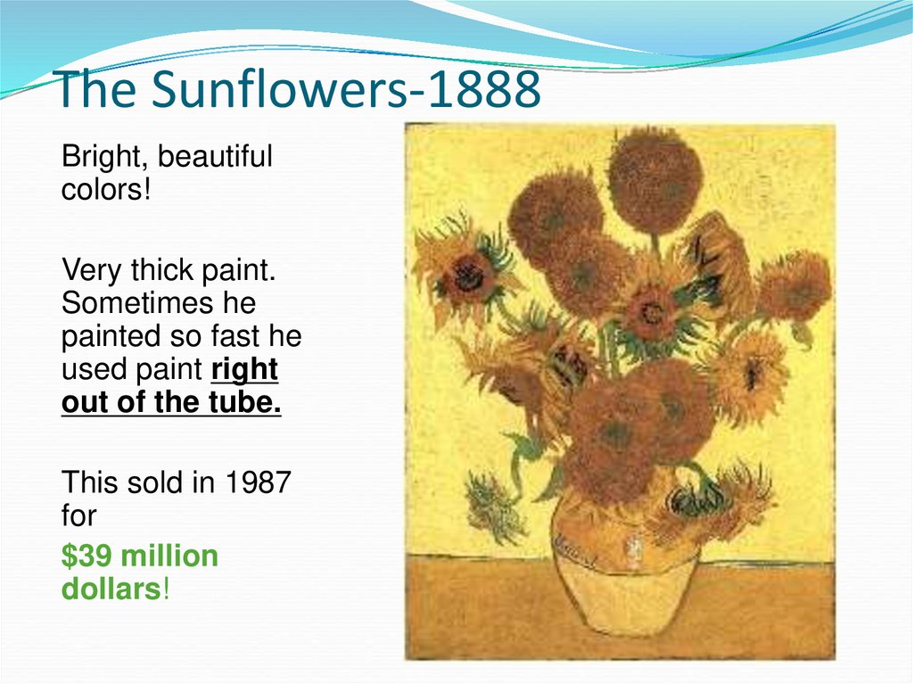 The Sunflowers-1888