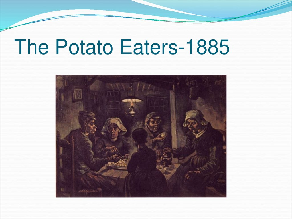 The Potato Eaters-1885