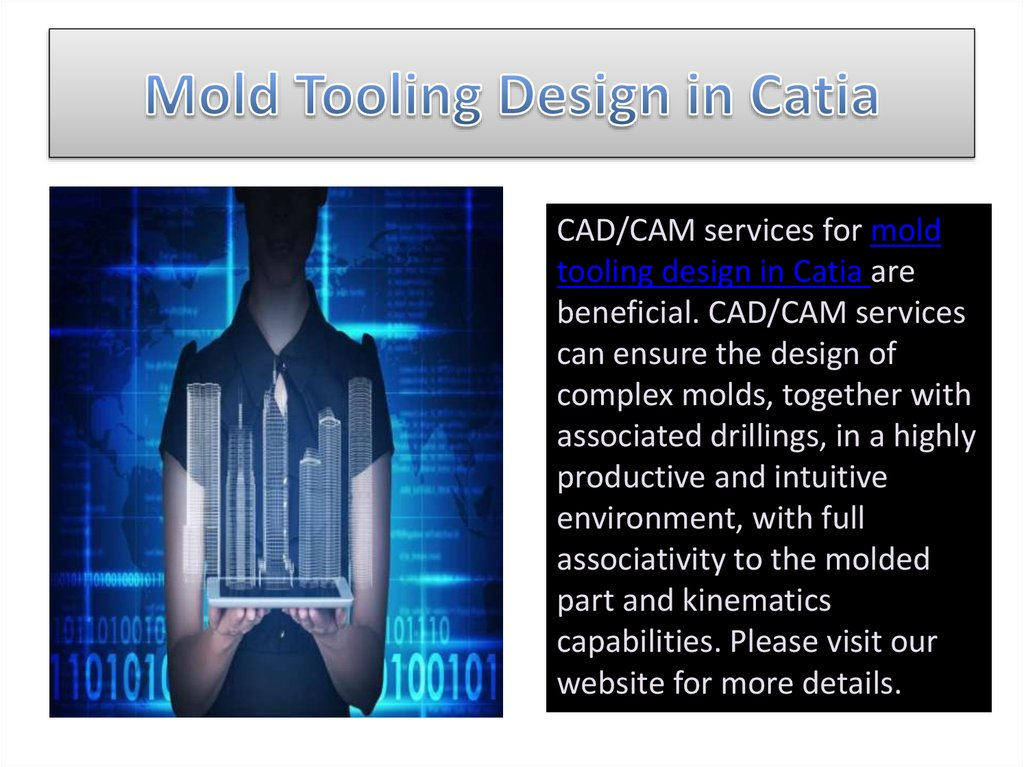 Mold Tooling Design in Catia