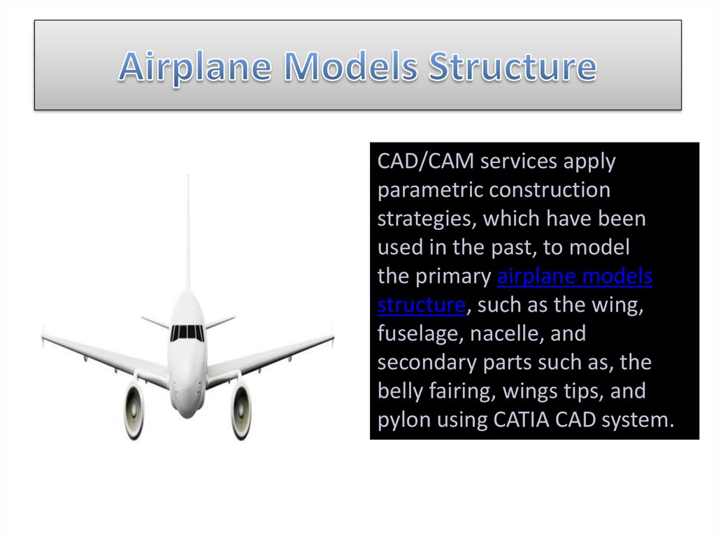 Airplane Models Structure