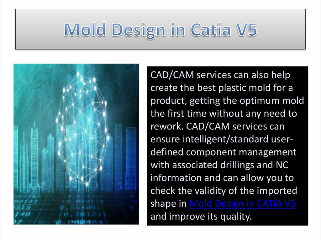 Mold Design in Catia V5