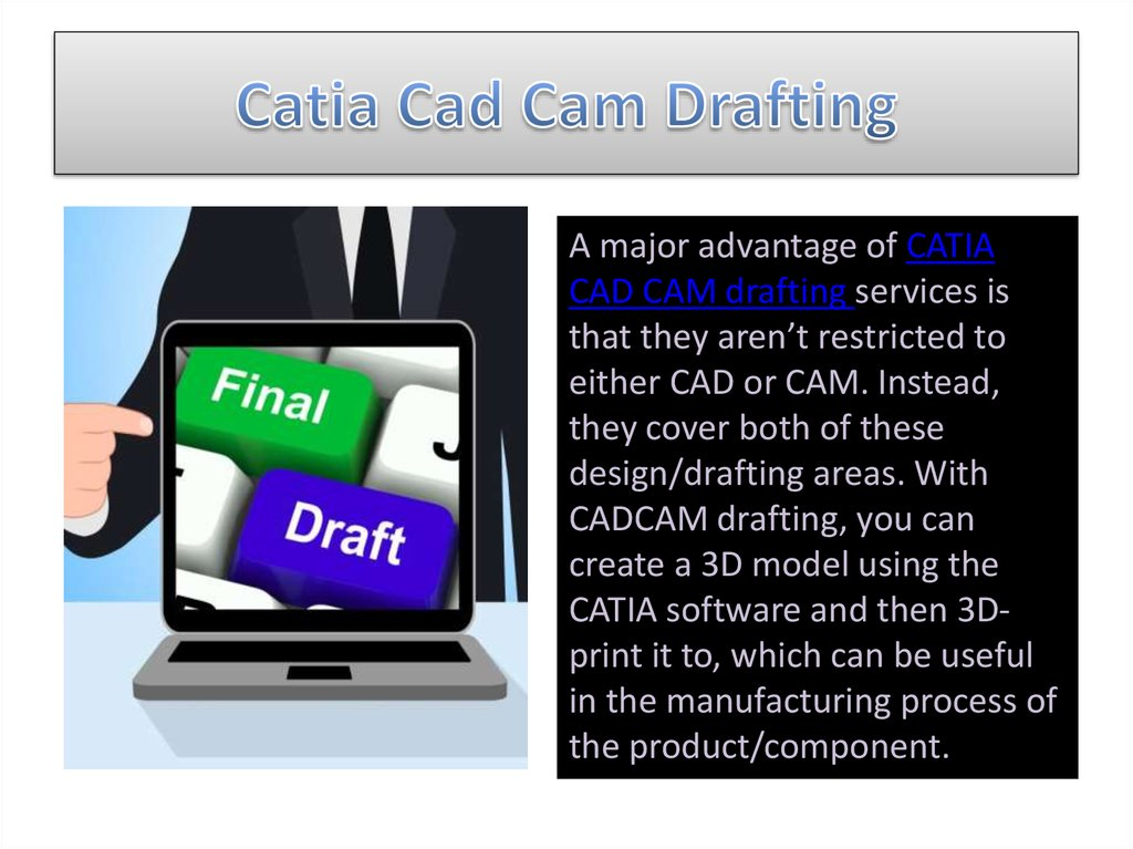 Catia Cad Cam Drafting