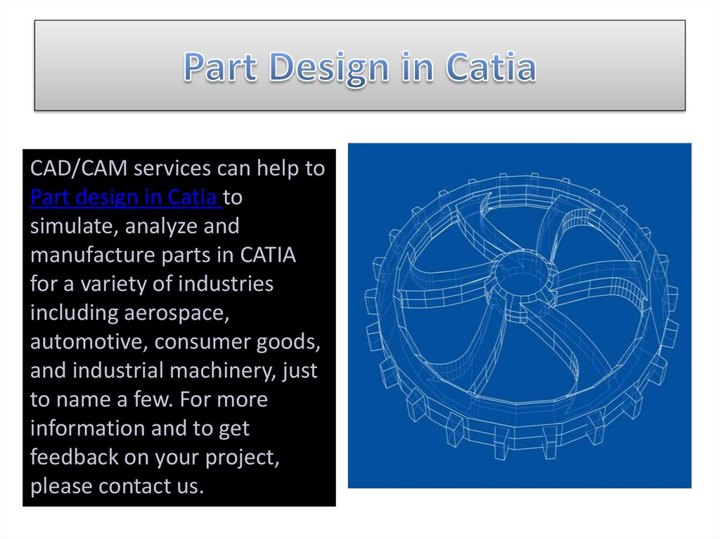 Part Design in Catia