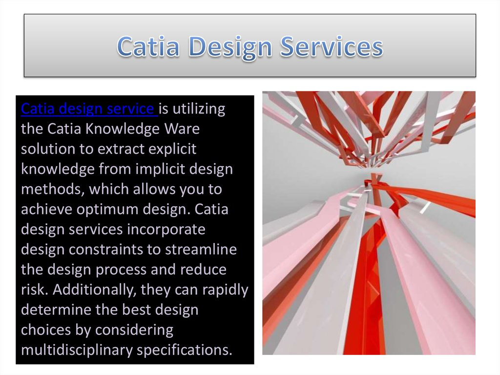 Catia Design Services