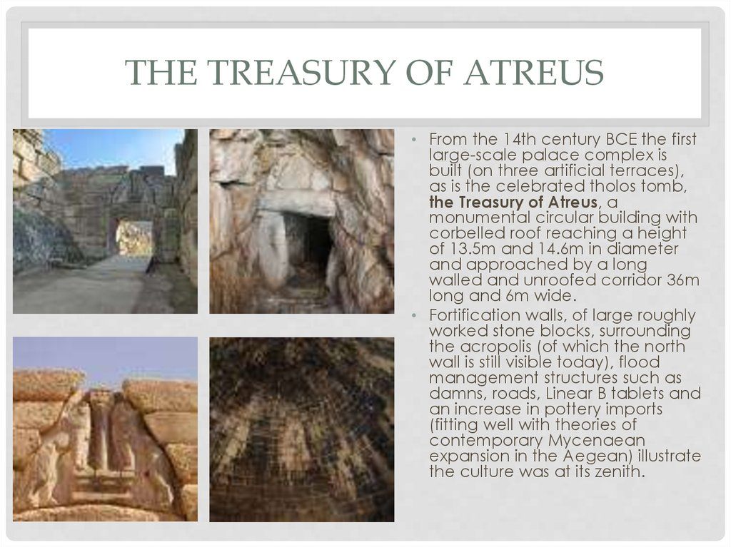 the Treasury of Atreus