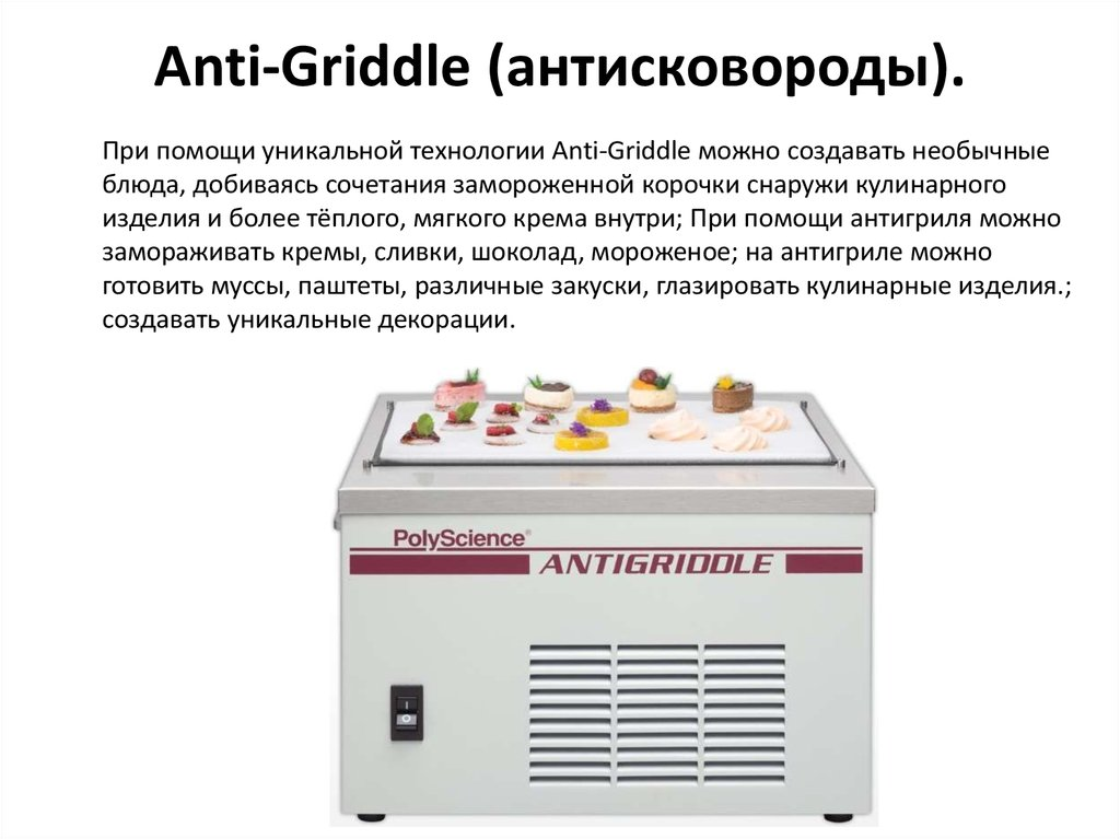 Anti-Griddle (антисковороды).