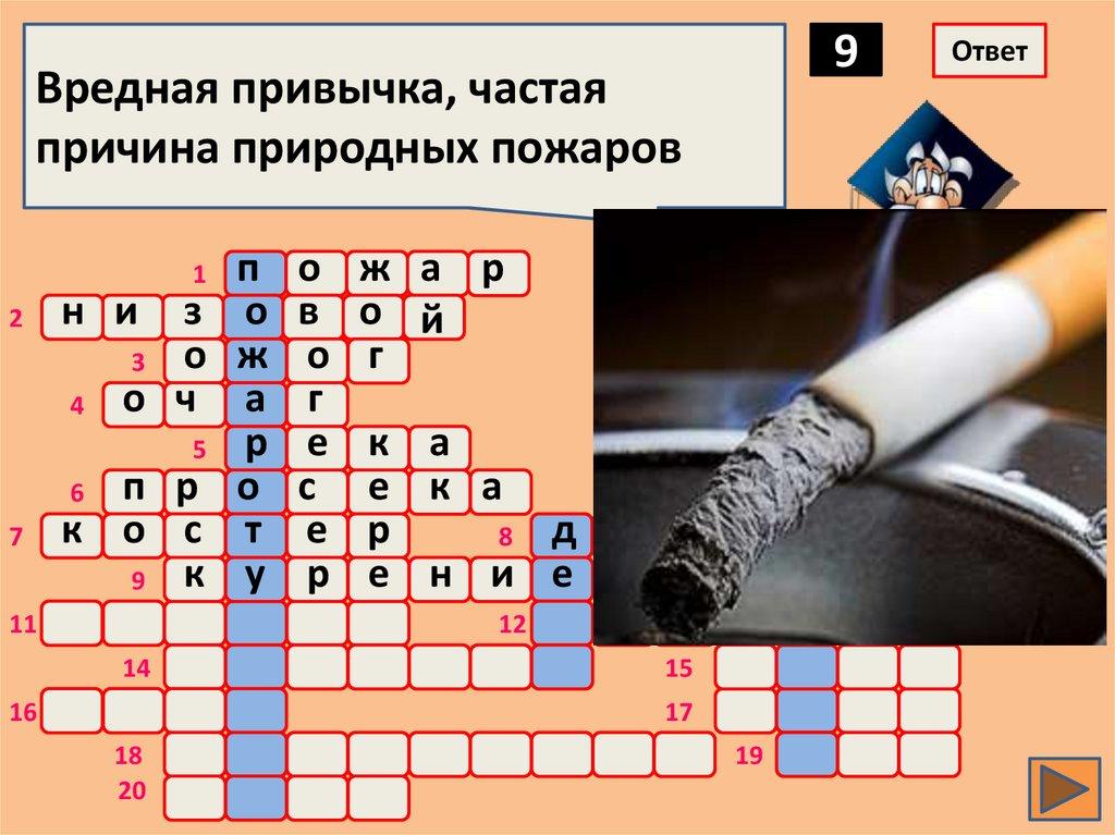 Табачные изделия кроссворд сигареты оптом российские
