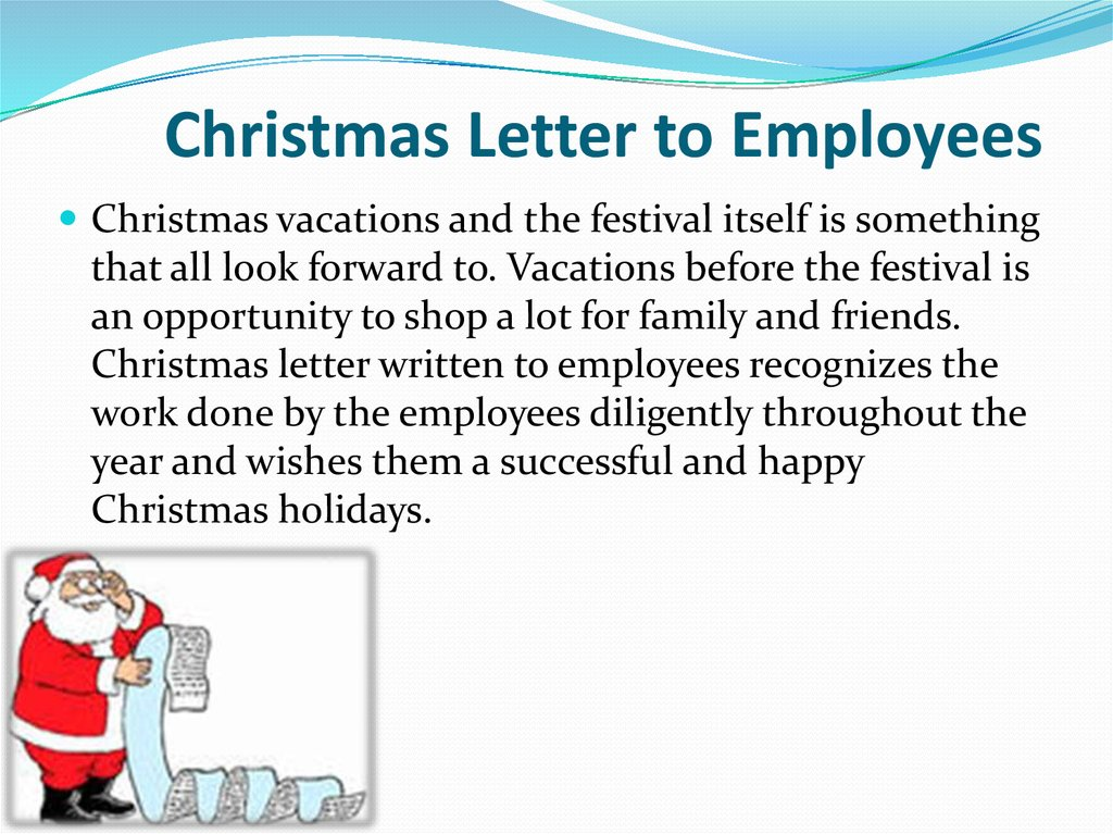 Sample acrostic christmas letter, with free printable stationery.