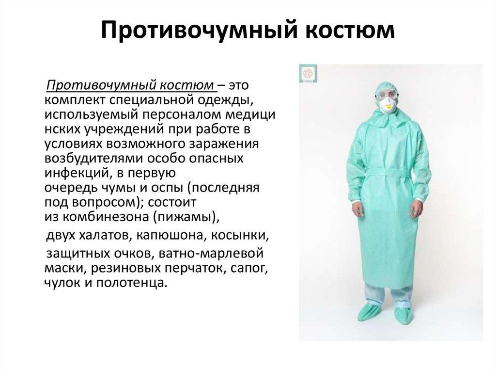правила одевания и снятия костюма при коронавирусе