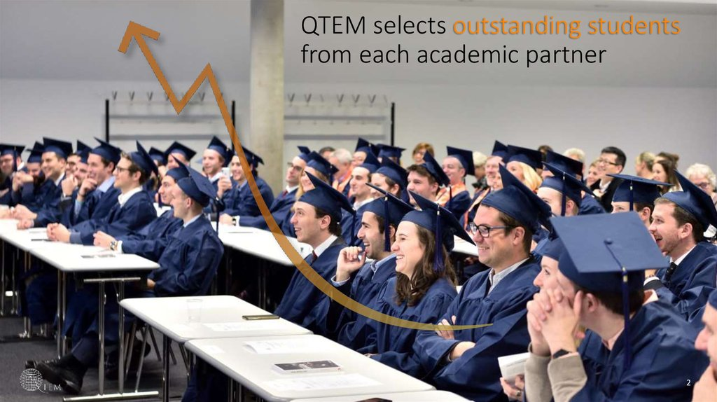 QTEM selects outstanding students from each academic partner