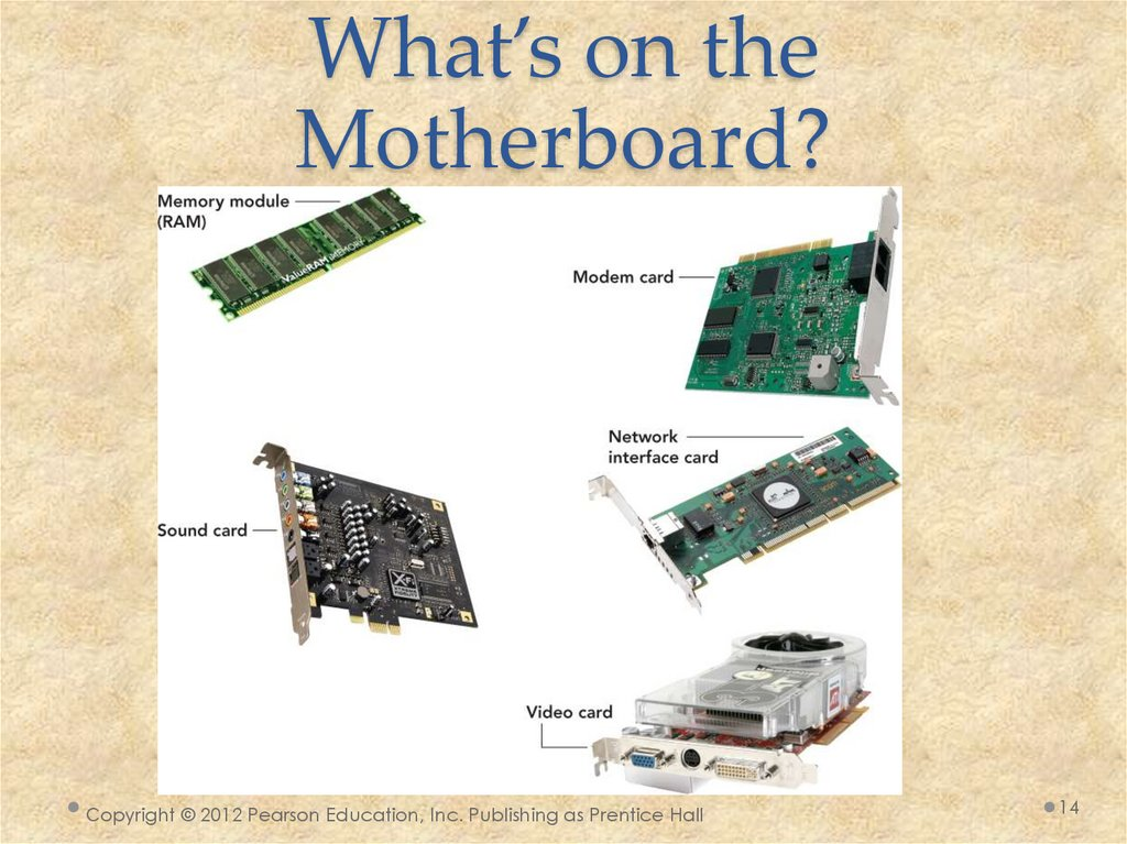 What's on the Motherboard?