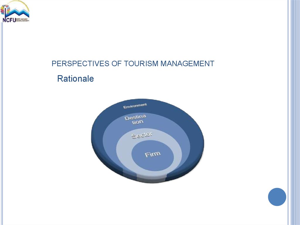 PERSPECTIVES OF TOURISM MANAGEMENT