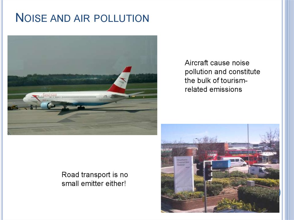 NOISE AND AIR POLLUTION