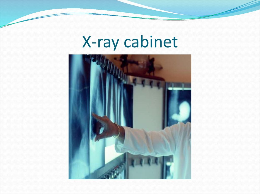 X-ray cabinet