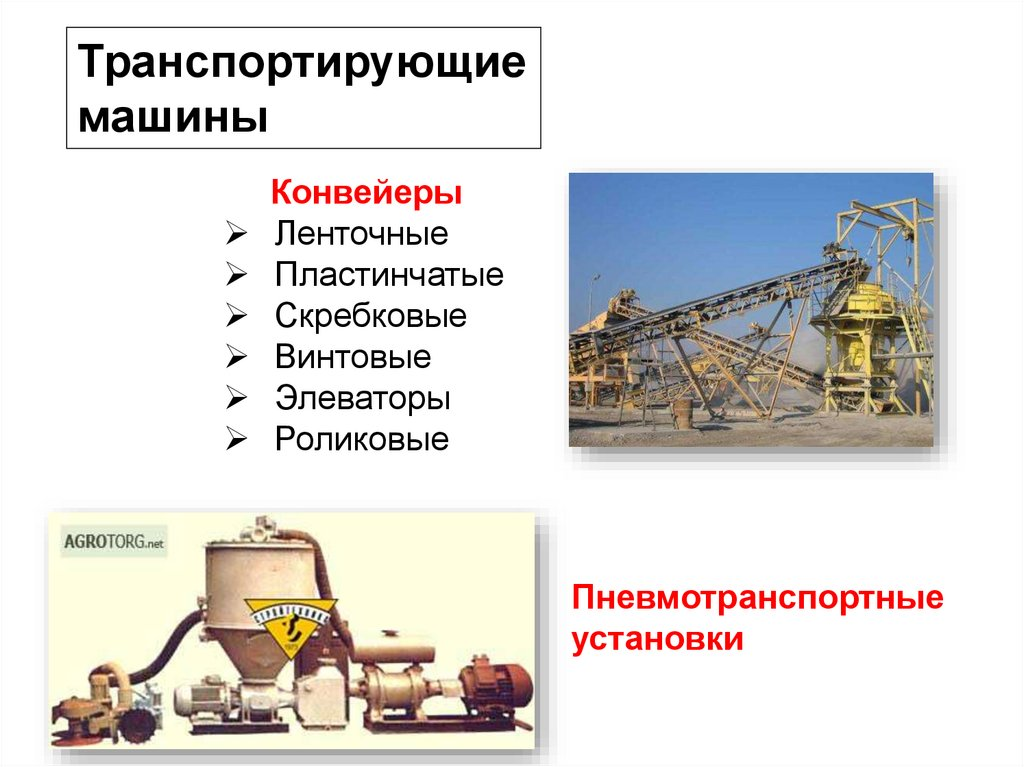 Классификация конвейеров и элеваторов расчет привода конвейера онлайн